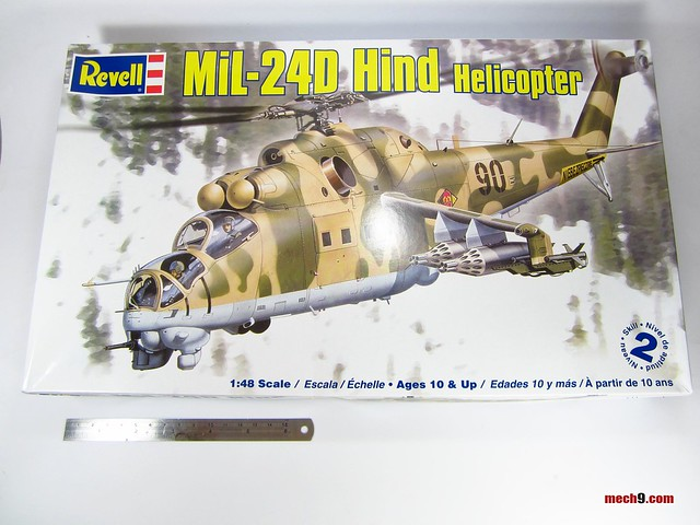 1/48 Revell MiL-24D Hind