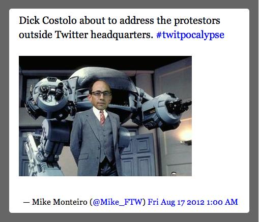 Monteiro tweet