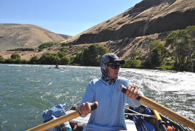 Driftboat on the Deschutes