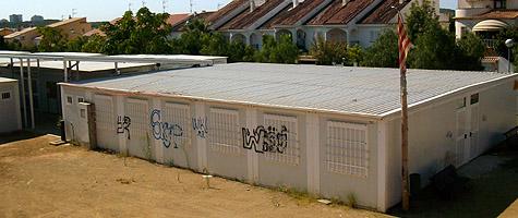 Els barracons de l'IES Montgròs ja no formen part del paisatge urbà