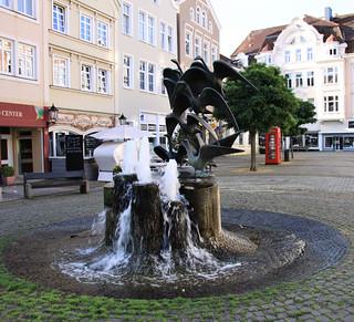 Herford - Gänsebrunnen am Gänsemarkt