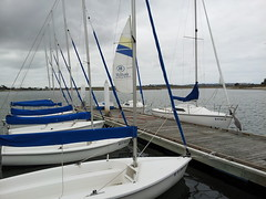 Boats by the Hilton
