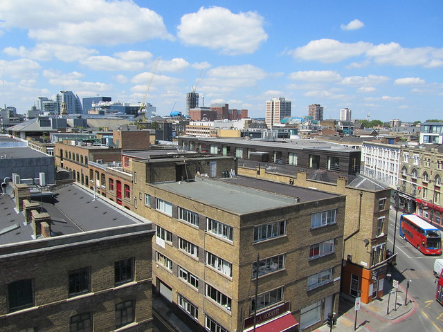 Views over Shoreditch