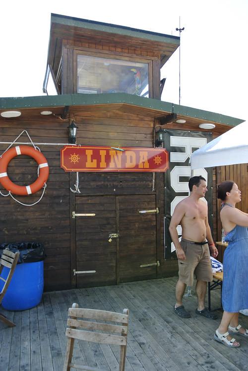 посудина, которая ходит по озеру -- Linda