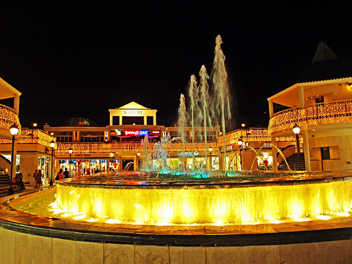 Dancing Fountains, Safari Centre, Playa de las Américas, Tenerife
