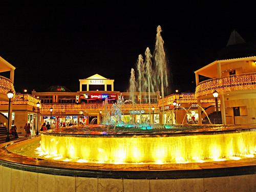 Dancing Fountains, Safari Centre, Playa de las Américas, Tenerife