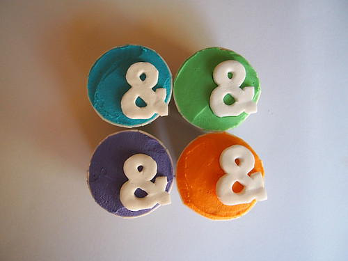 Ampersand Cupcakes