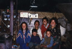 Yurt Family Inside Light
