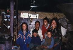 Yurt Family Inside Light