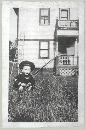 Child in a sailor suit