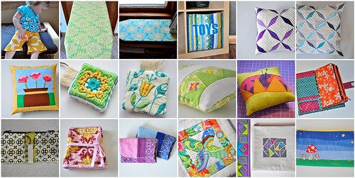 2012 - pillows, pouches and sewing
