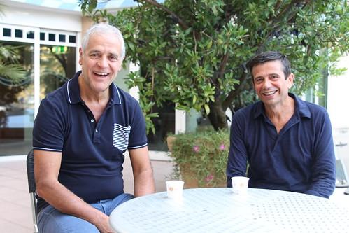 Maurizio Lupi con Roberto Formigoni