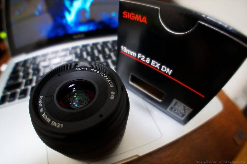 SIGMA 19mm F2.8 EX DN Sony E mount