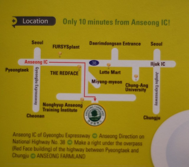directions to anseong farm