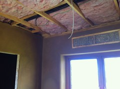 Cabling, ceiling insulation and a truth window