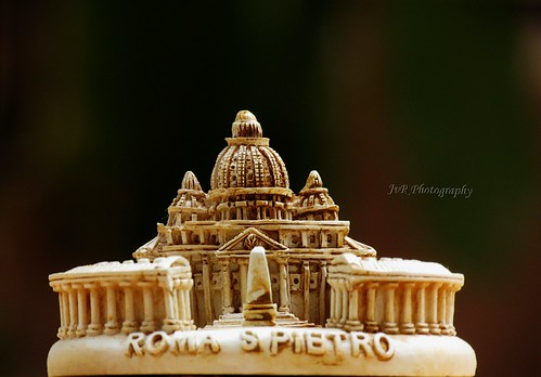 Miniature of St. Peter Basillica Rome