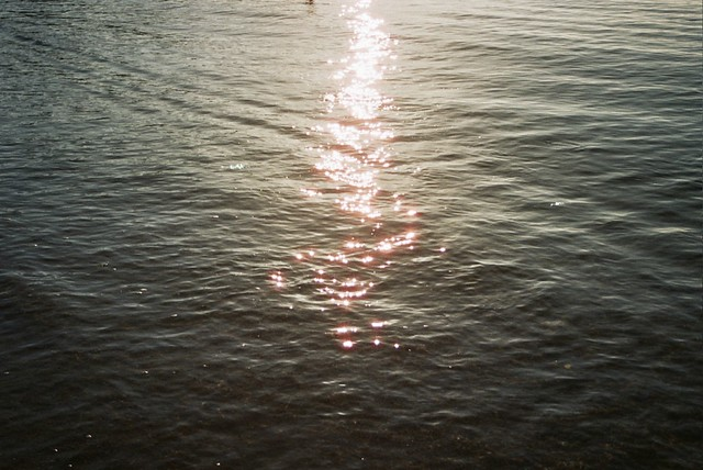 El reflejo del sol