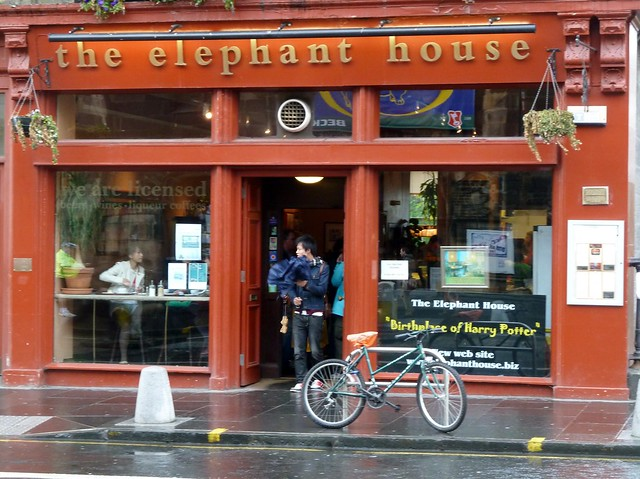 Elephant Cafe, Edinburgh