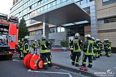 Explosion/Räumung Dorint Hotel 27.08.12