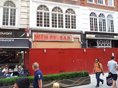 Wimpy Bar - Leicester Square