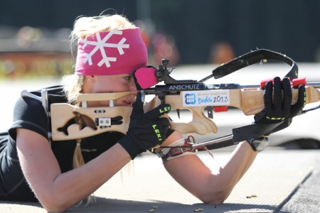 Biatlonistka Tomešová míří za další letní výzvou