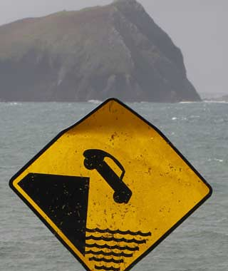 Driving-off-Cliff