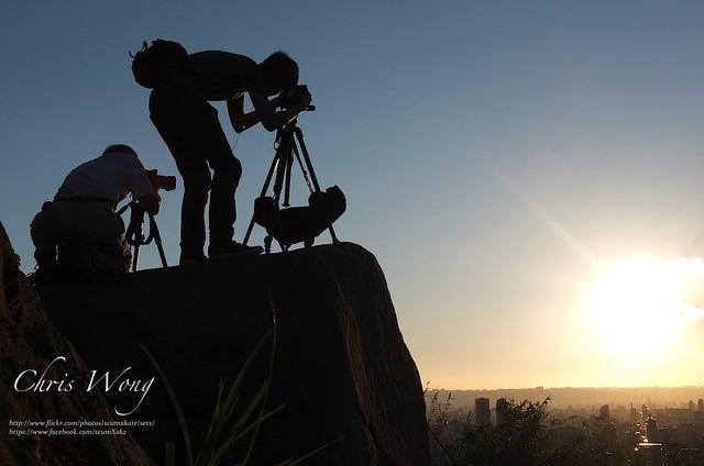 第一次象山拍101夜景 (數位+正片)