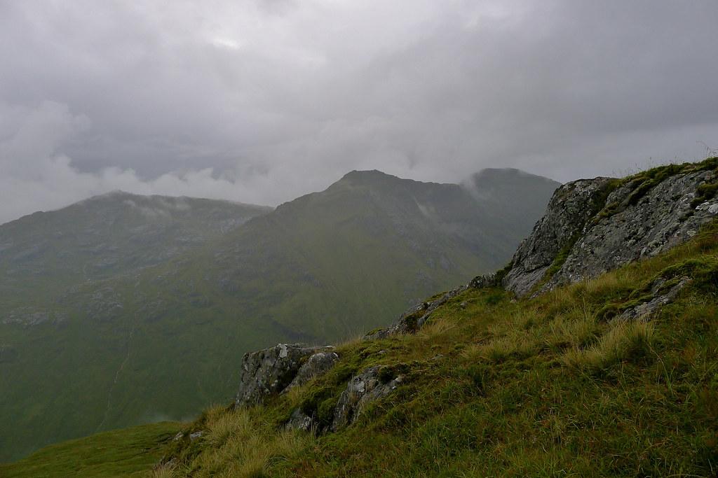 Looking across to Sgurr nan Coireachan