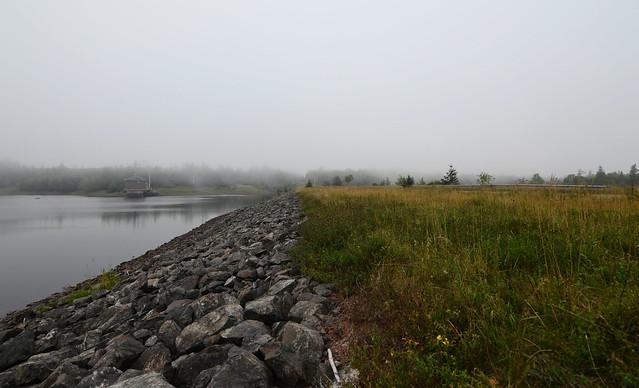 Along The Lepper Brook Dam