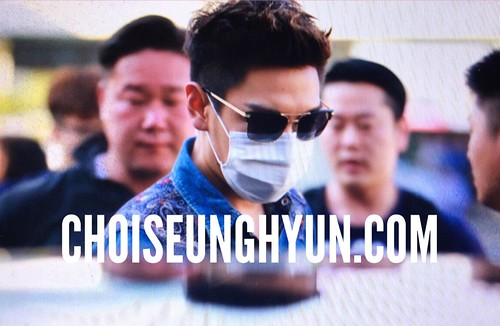 Big Bang - Gimpo Airport - 20may2015 - TOP - Choidot - 03