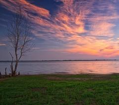 ☀️ Sunrise at Lewisville Lake.