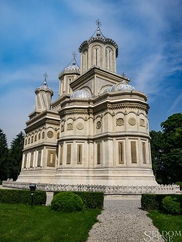 curteadeargeș geotagged romania monastery