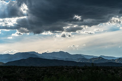 1608 Santa Catalina Mountains from the A7 Ranch