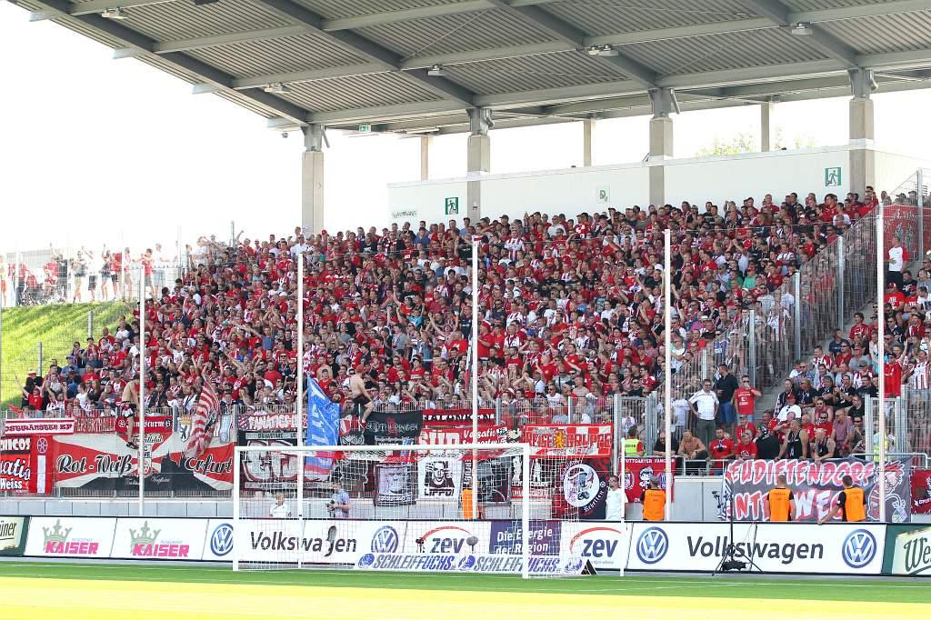 11.09.2016  FSV Zwickau vs. FC Rot-Weiß Erfurt 1-2 , Foto: Frank Steinhorst - Pressefoito