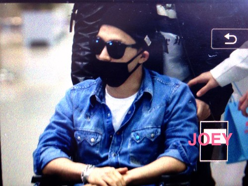 Big Bang - Incheon Airport - 10apr2015 - Tae Yang - Joey_GD - 01