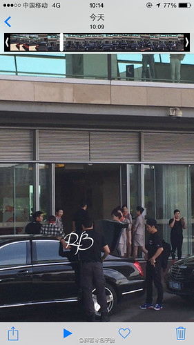 Big Bang - Beijing Airport - 07jun2015 - 薛若冰包子臉 - 04