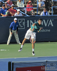 Taylor Fritz at the 2016 Citi Open