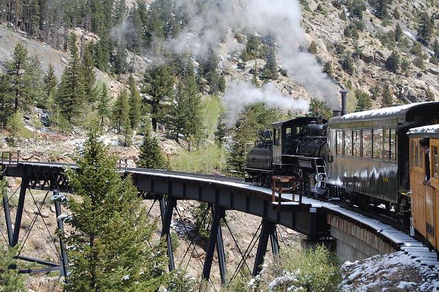Trestle - Georgetown Loop Railroad