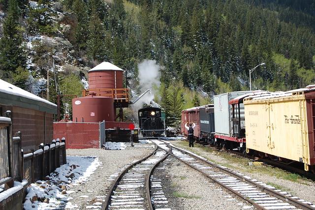 Silver Plume - Water - Georgetown Loop Railroad