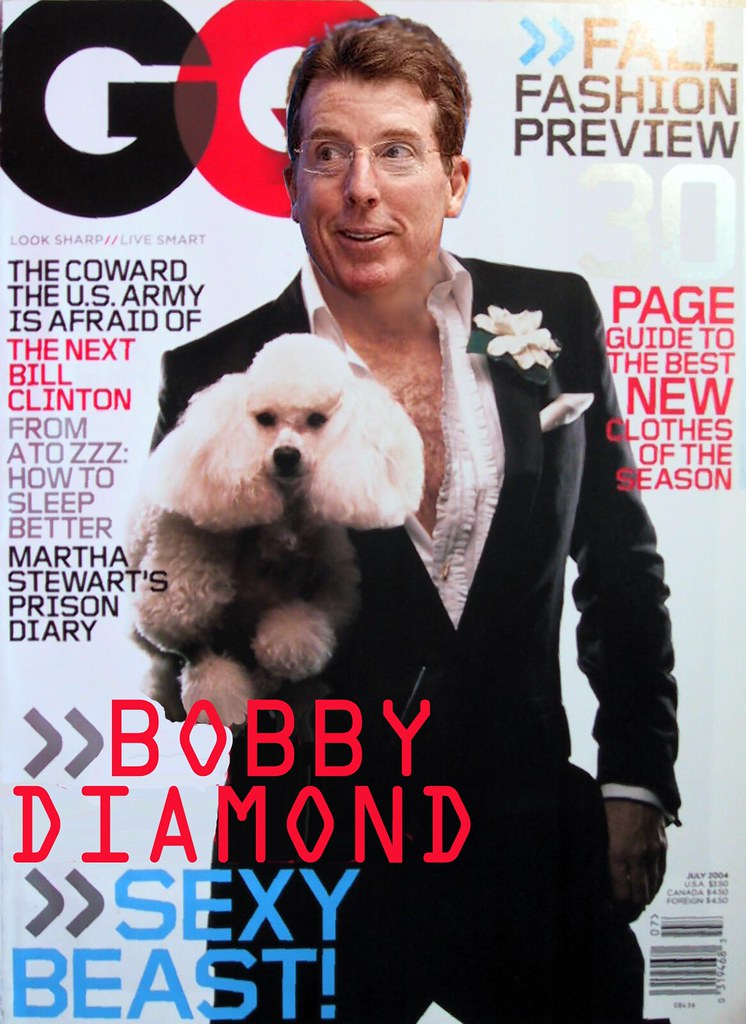 BOBBY DIAMOND GQ