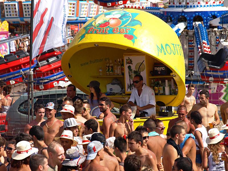 Mojito stall at Fiestas del Carmen, Puerto de la Cruz, Tenerife