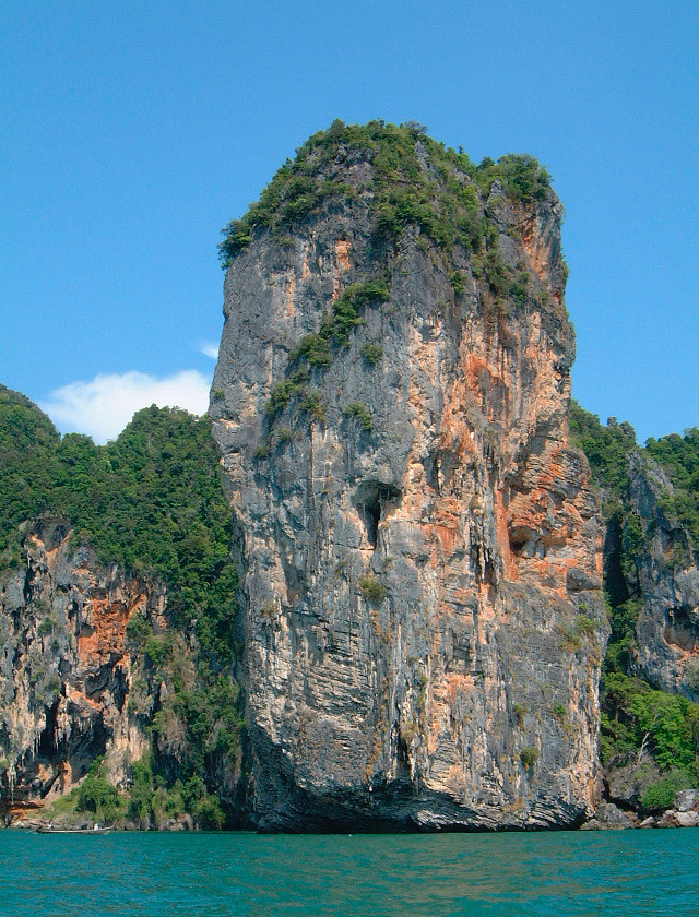 krabi limestone cliffs