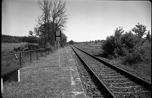 Haltepunkt Lehengütingen - Strecke Dinkelsbühl–Feuchtwangen