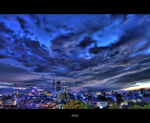 blue cloud rain landscape nikon raw skies angry hdr