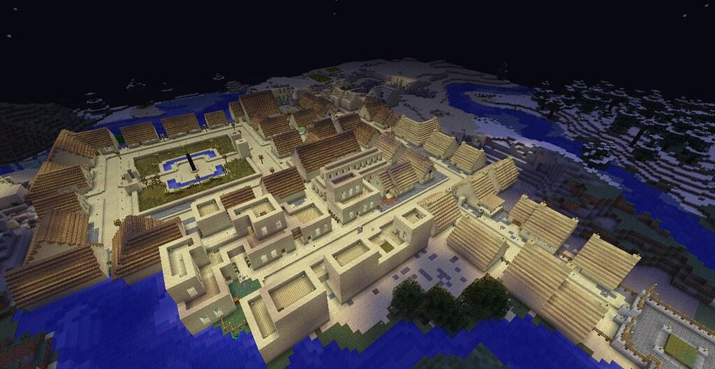 how to find your village in minecraft