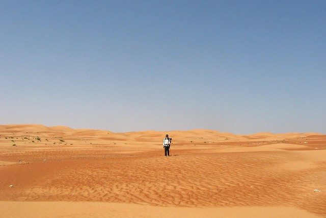 1000 Miles Across the Empty Quarter Desert