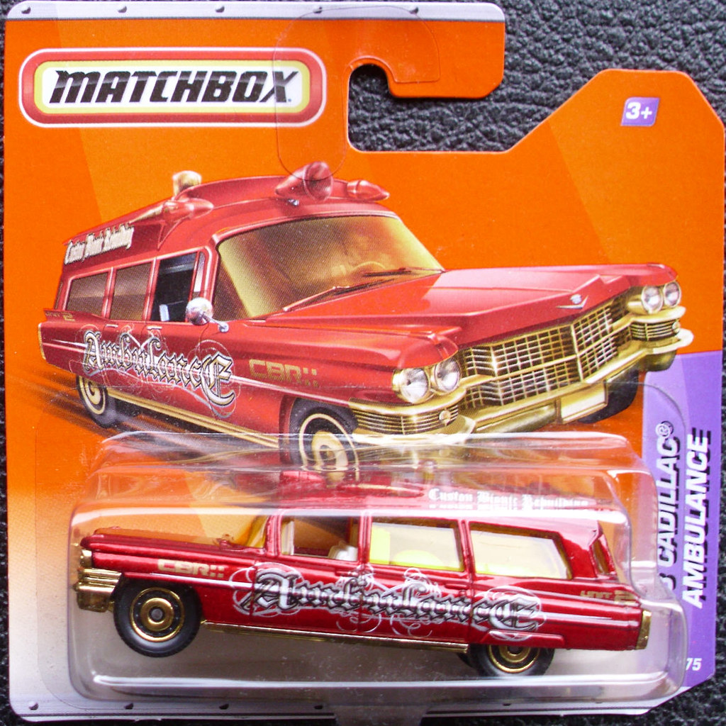 Matchbox Cadillac Ambulance Cadillac Ambulance Matchbox