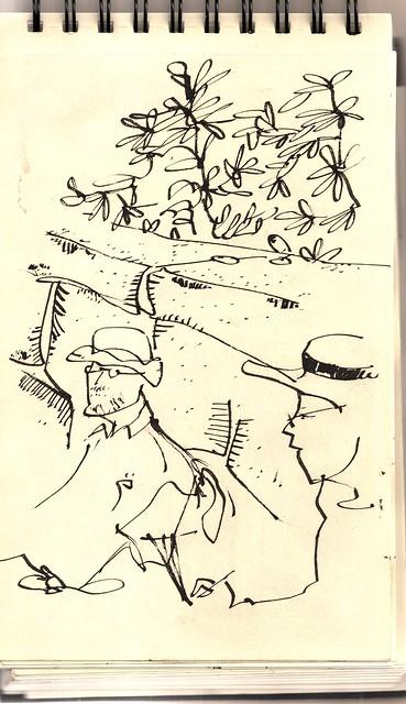 36 sketchcrawl. San Lorenzo del Escorial