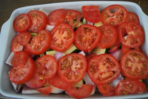 Briami -  Roasted Greek Vegetables