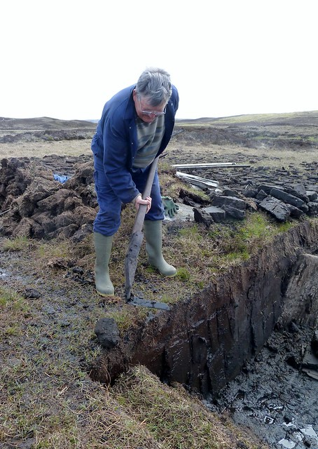 Cutting Peat, Outer Hebrides